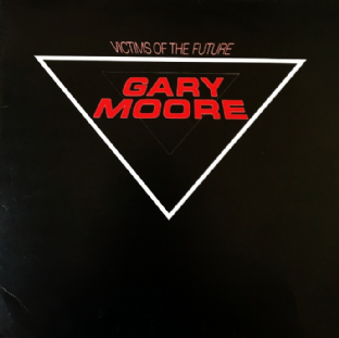 Gary Moore - Victims Of The Future (LP) (VG+/VG-)